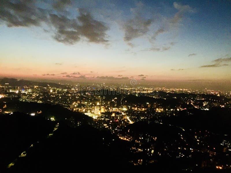 Город светов стоковые фото