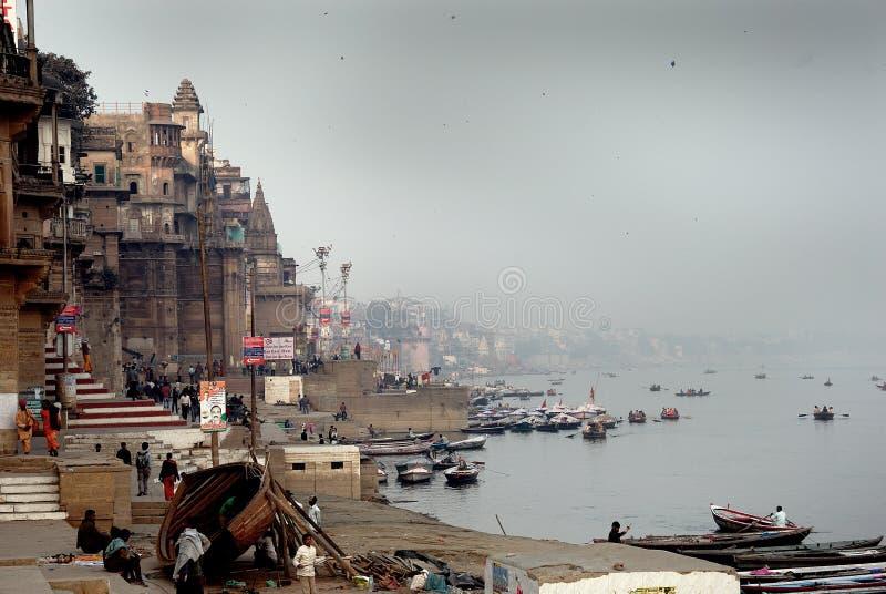 город святейшая Индия стоковое фото