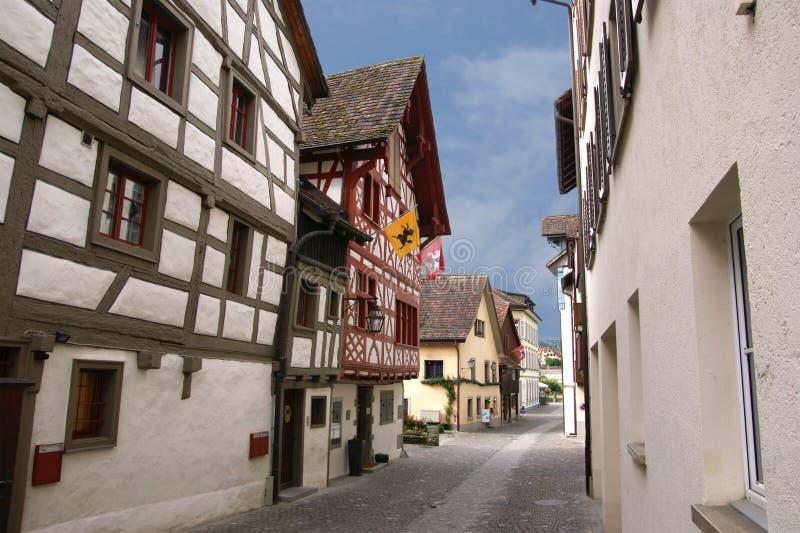 город северный schaffhausen Швейцария стоковое изображение rf