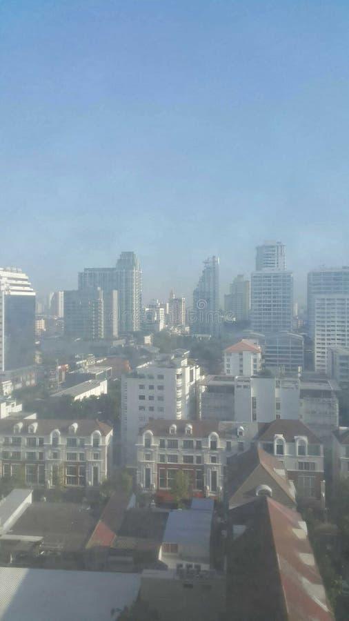 Город утра стоковая фотография