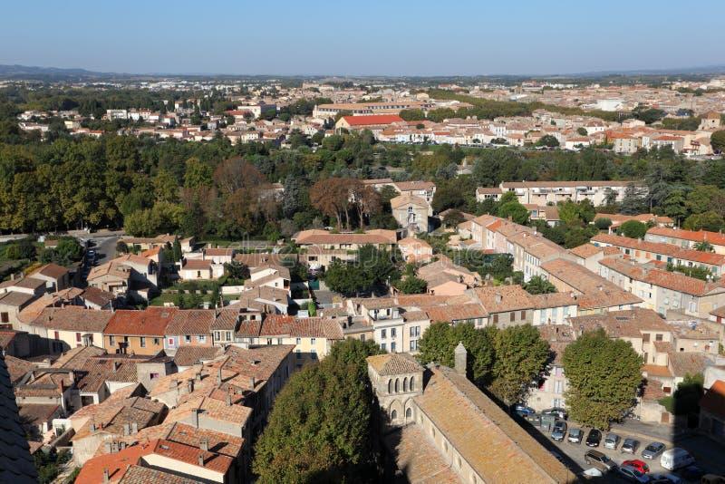 город Франция carcassonne стоковое фото rf