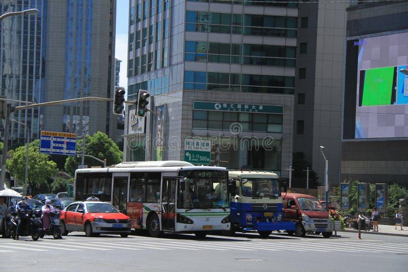 Город Шанхая стоковые фото