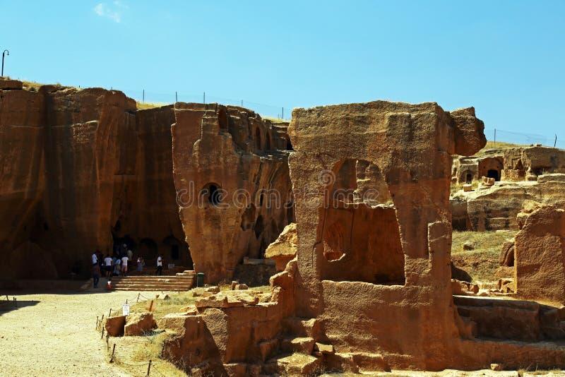 Город шутовства Dara в mardin, индюке стоковое изображение rf