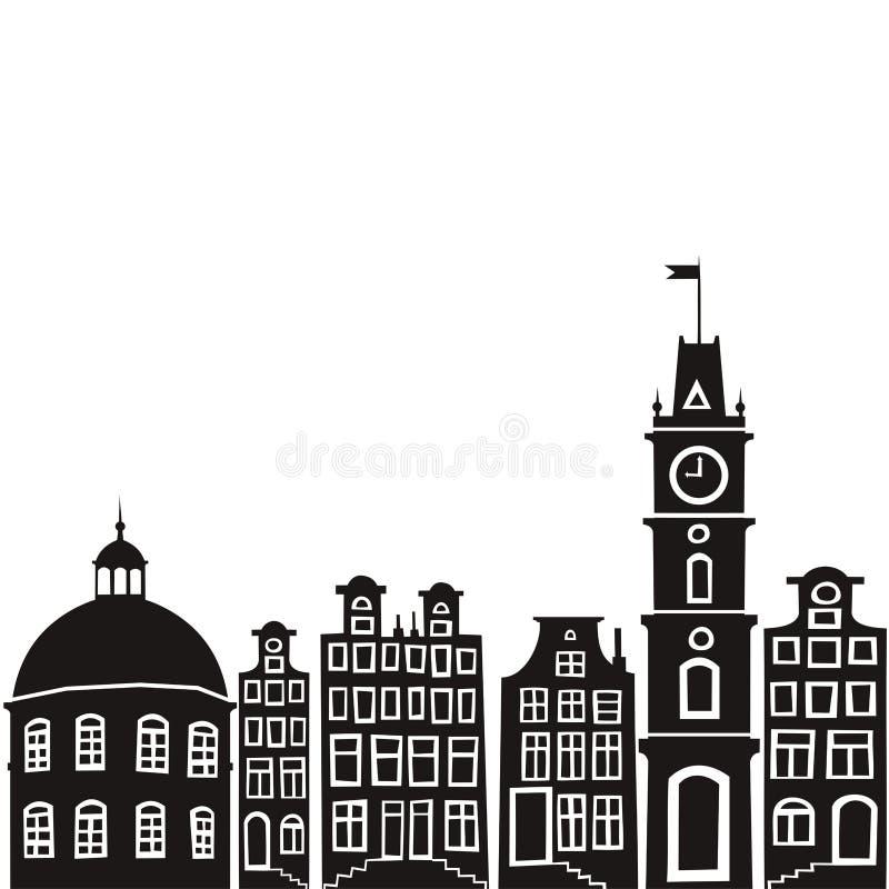 город стоковое изображение rf
