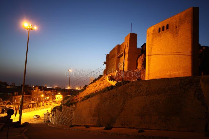 город arbil стоковые изображения rf