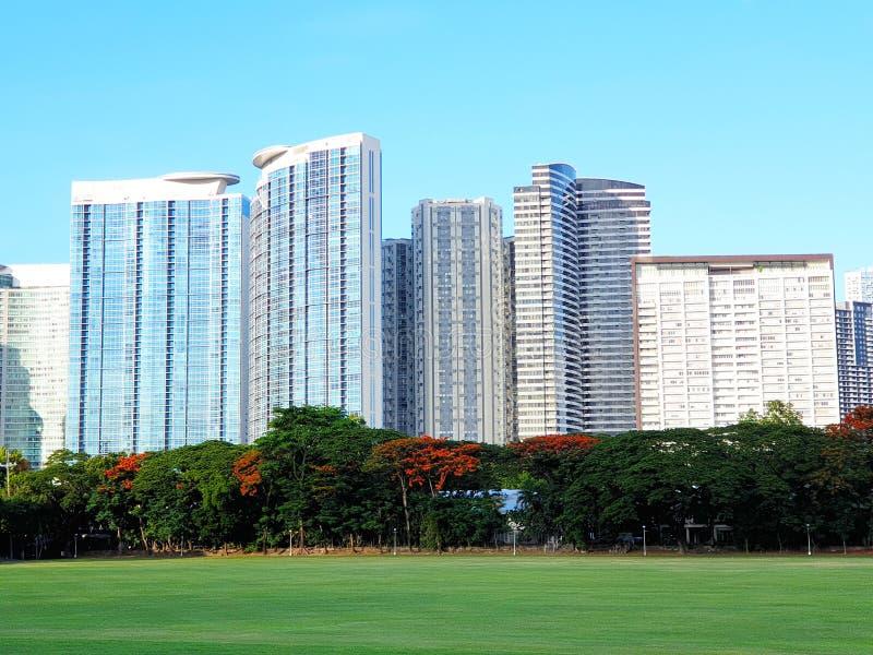 Город Bonifcacio глобальный, Taguig, Манила, Филиппины стоковые изображения