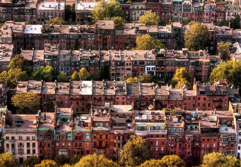город boston стоковое изображение rf