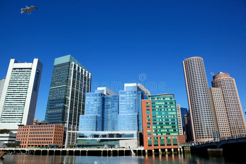 город boston стоковые фотографии rf