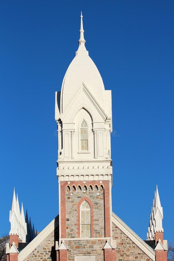 Город Brigham, Юта стоковое изображение rf