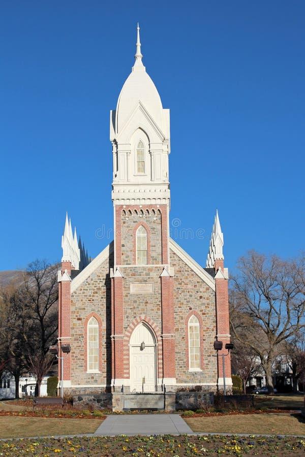 Город Brigham, Юта стоковая фотография