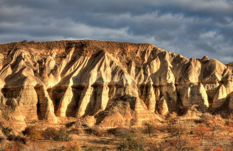 Город Cappadocia отключения воздуха известный в Турции стоковые изображения