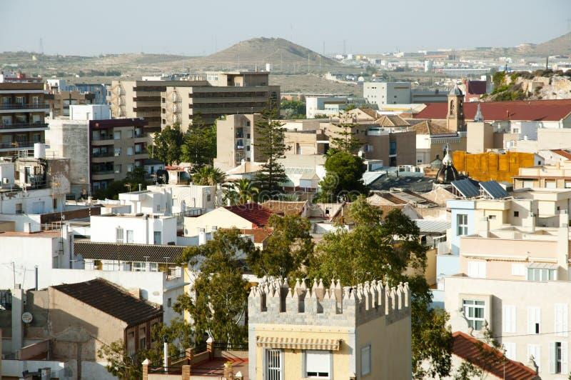 Город Cartagena стоковые изображения