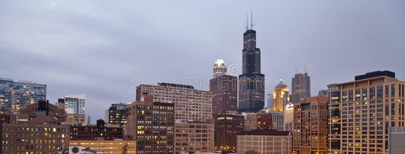 город chicago стоковые фотографии rf