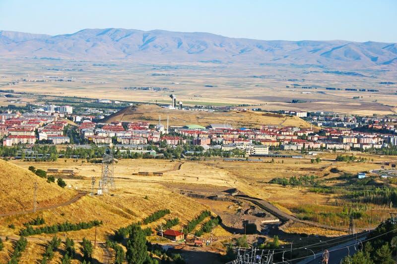 Город Erzurum стоковое изображение