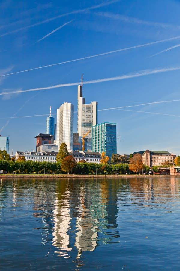 город frankfurt стоковые изображения