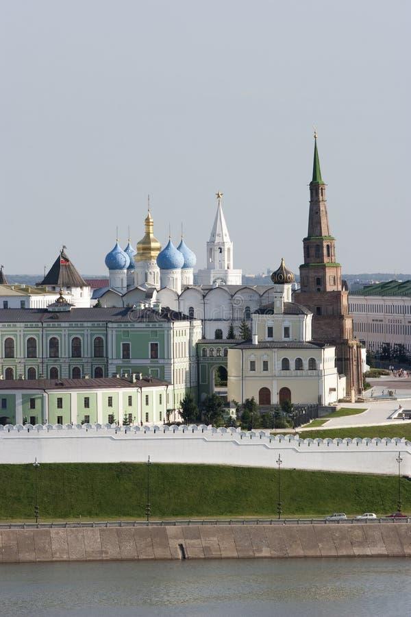 город kazan kremlin стоковая фотография