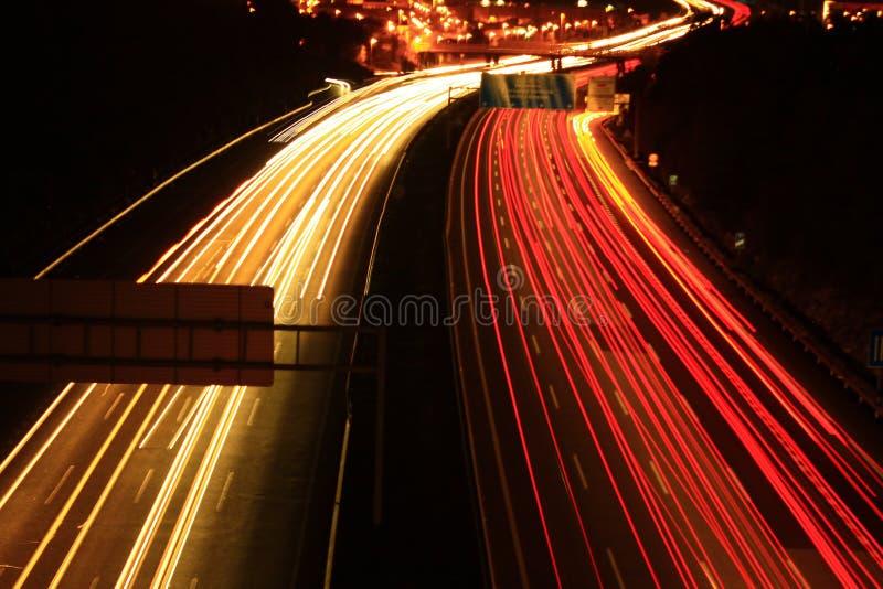Город Ligths стоковое фото rf