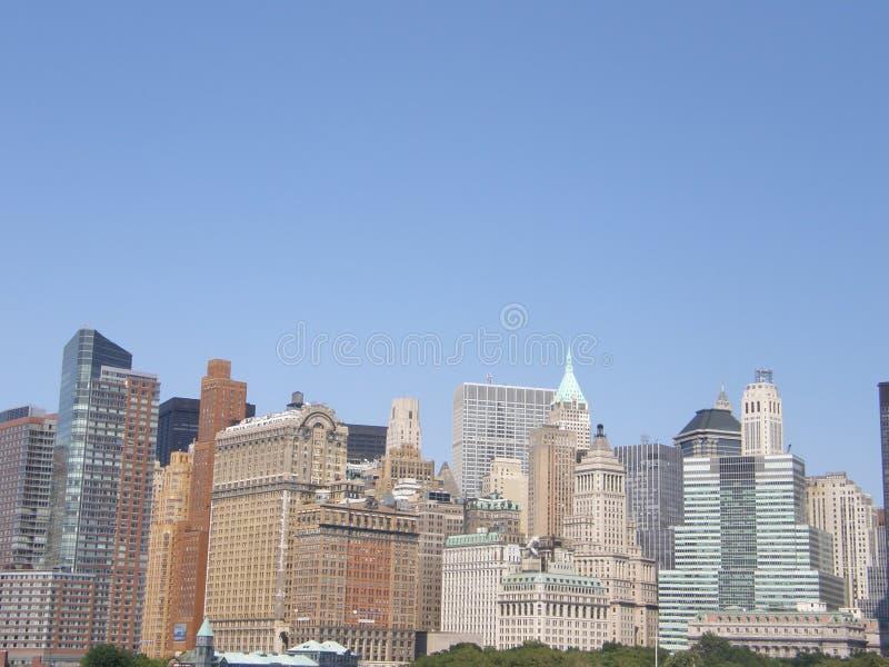 город manhattan New York стоковое изображение