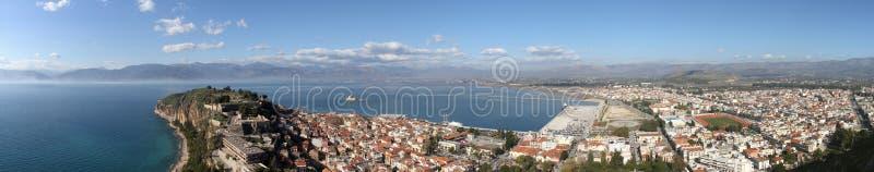Город Nafplion, Греции стоковые фото