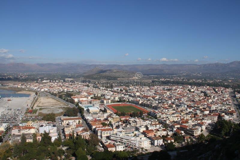Город Nafplion, Греции стоковая фотография