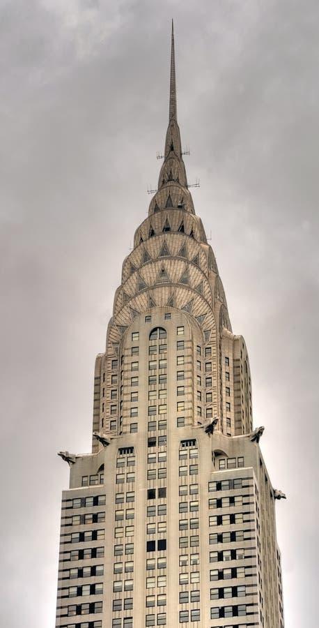 город New York chrysler здания стоковая фотография rf
