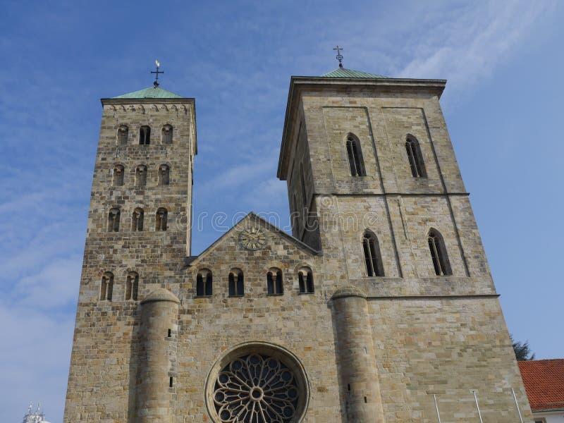 Город osnabrueck в Германии стоковое фото rf
