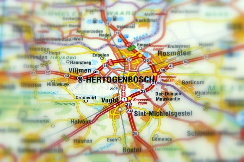 Город s-Hertogenbosch `/вертепа Bosch - Нидерландов стоковые изображения rf