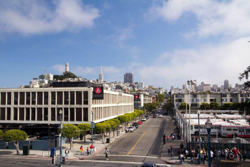 Город San Francisco стоковая фотография