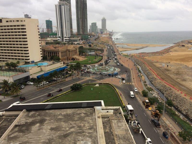 Город Sri lankan Коломбо, столица Шри-Ланки стоковое фото rf