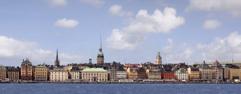 город stockholm стоковое фото