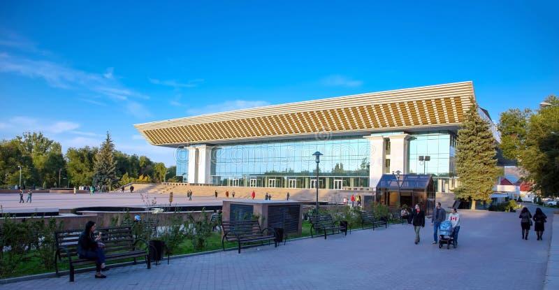 Город Алма-Ата стоковое изображение rf