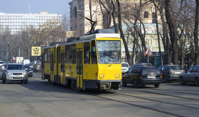 Город Алма-Аты стоковое изображение rf