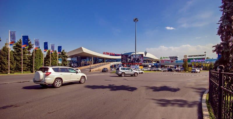 Город Алма-Аты стоковое изображение