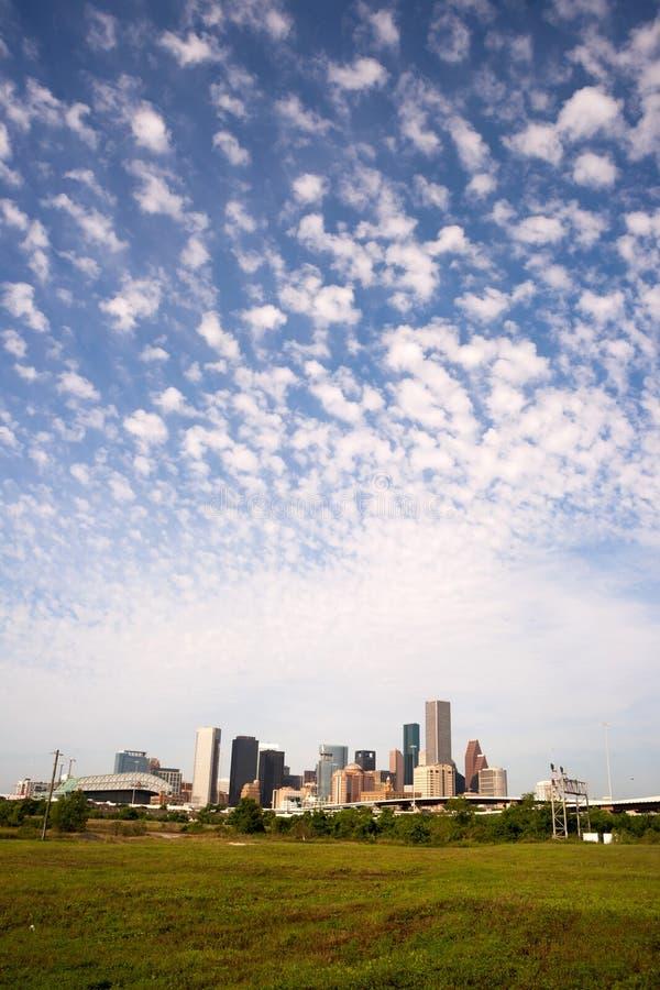 Города Техаса горизонта Хьюстона метрополия южного большого городская стоковая фотография