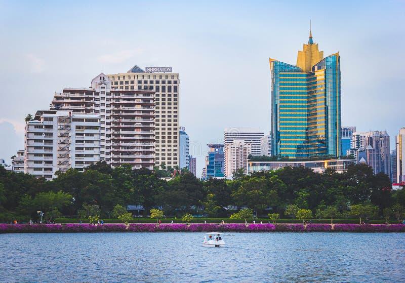 Город Бангкок стоковые изображения