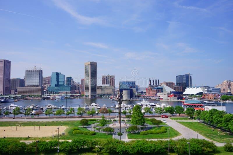 Город Балтимора стоковые изображения