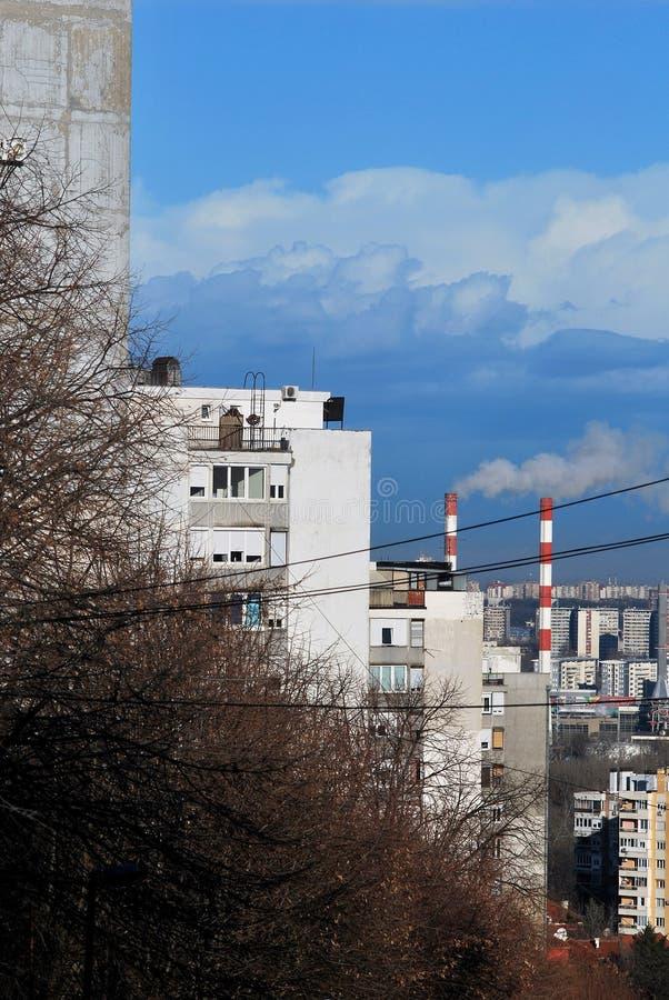 Город Белграда в Сербии стоковые изображения