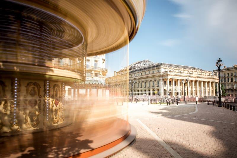 Город Бордо в Франции стоковое фото rf