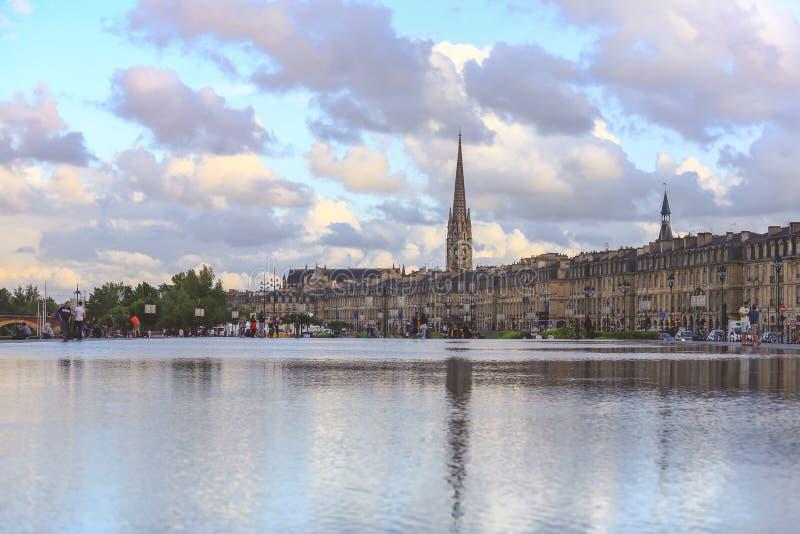 Город Бордо стоковое изображение