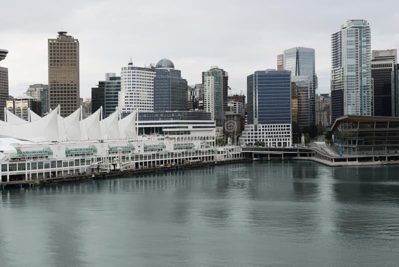 Город Ванкувера, Канада стоковая фотография rf