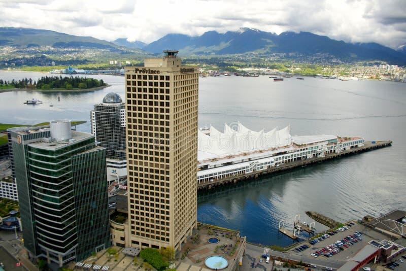 Город Ванкувера, Канады стоковые фото