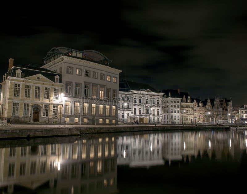 Город Гента стоковая фотография