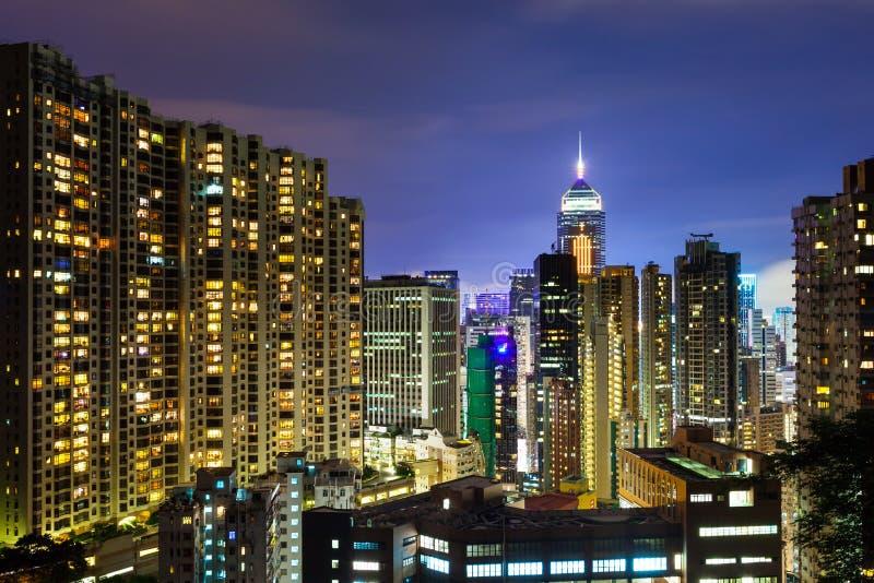 Download Город Гонконга стоковое изображение. изображение насчитывающей горизонт - 33737593