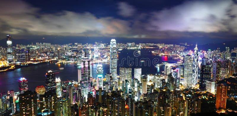 Download Город Гонконга стоковое фото. изображение насчитывающей дел - 33737784