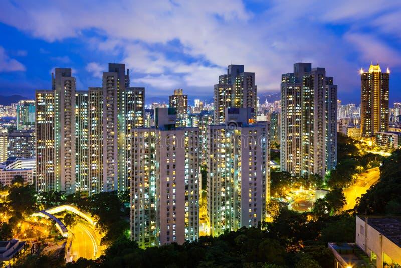 Download Город Гонконга стоковое фото. изображение насчитывающей взгляд - 33737922