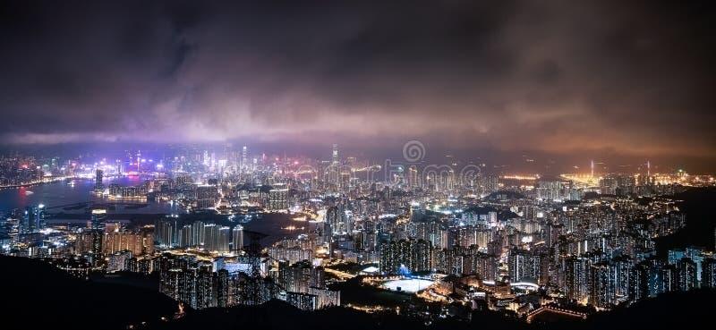 Город Гонконга стоковые фото