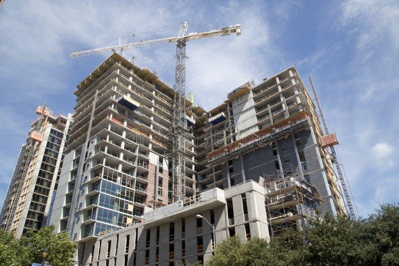 Город Даллас развития стоковое фото rf