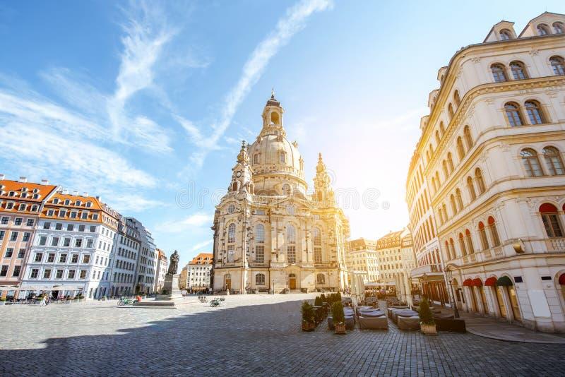 Город Дрездена в Германии стоковое фото