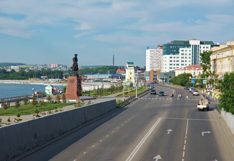 Город Иркутска стоковое фото rf