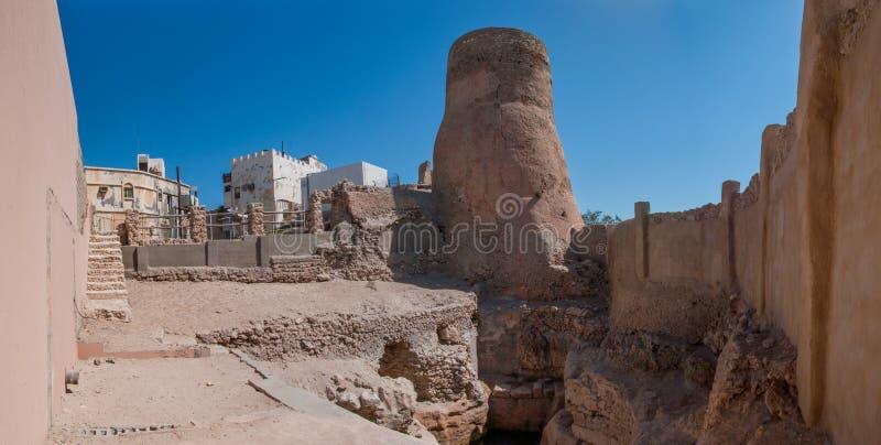 Городища замка Tarout, остров Tarout, Саудовская Аравия стоковые изображения